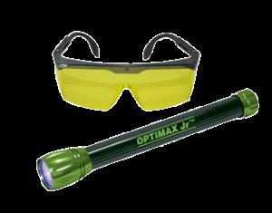 optimax jr cordless ultra compact blue light led leak detection flashlight fox valley sales. Black Bedroom Furniture Sets. Home Design Ideas